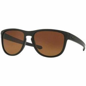 Oakley Square Sunglasses Brown Gradient Polarized